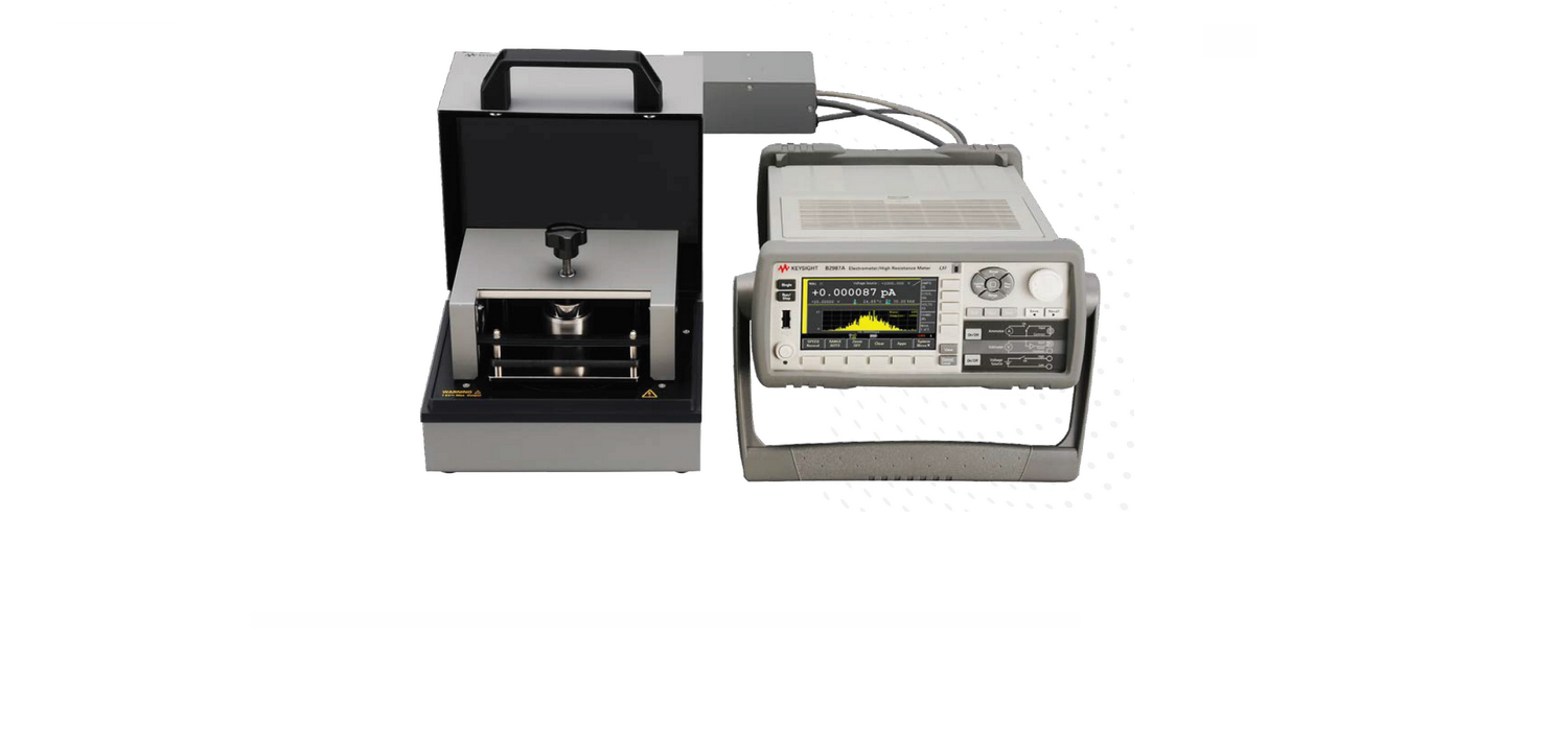 New accesories for high resistance measurements with Keysight B2985A/87A Electrometer/High resistance meters