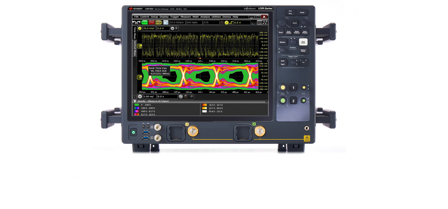 Keysight UXR - the world fastest real-time oscilloscope