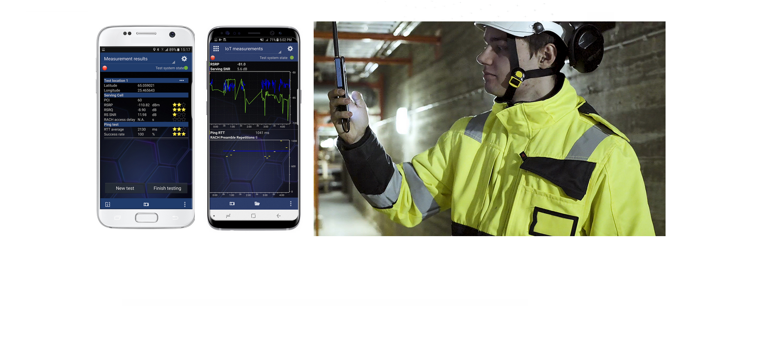 Keysight Nemo IoT Meter – an easy-to-use handheld NB-IoT and LTE-M network coverage verification tool