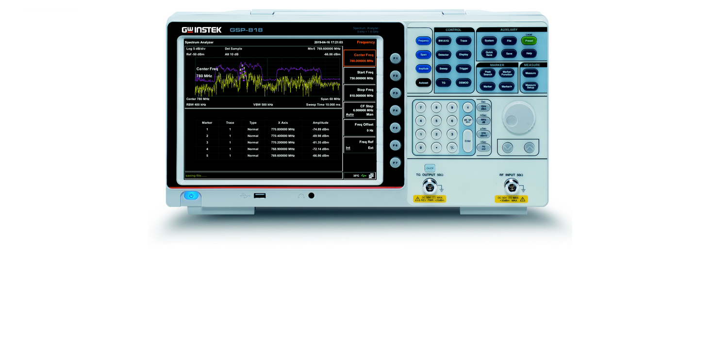 GW Instek GSP-818 Spectrum Analyzer: Solid performance for affordable price