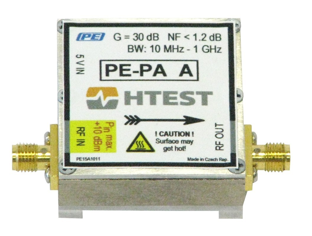 USB powered RF preamplifiers H TEST PE-PA