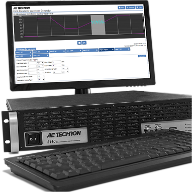 AE Techron 3110: DC to 300 kHz standards waveform generator